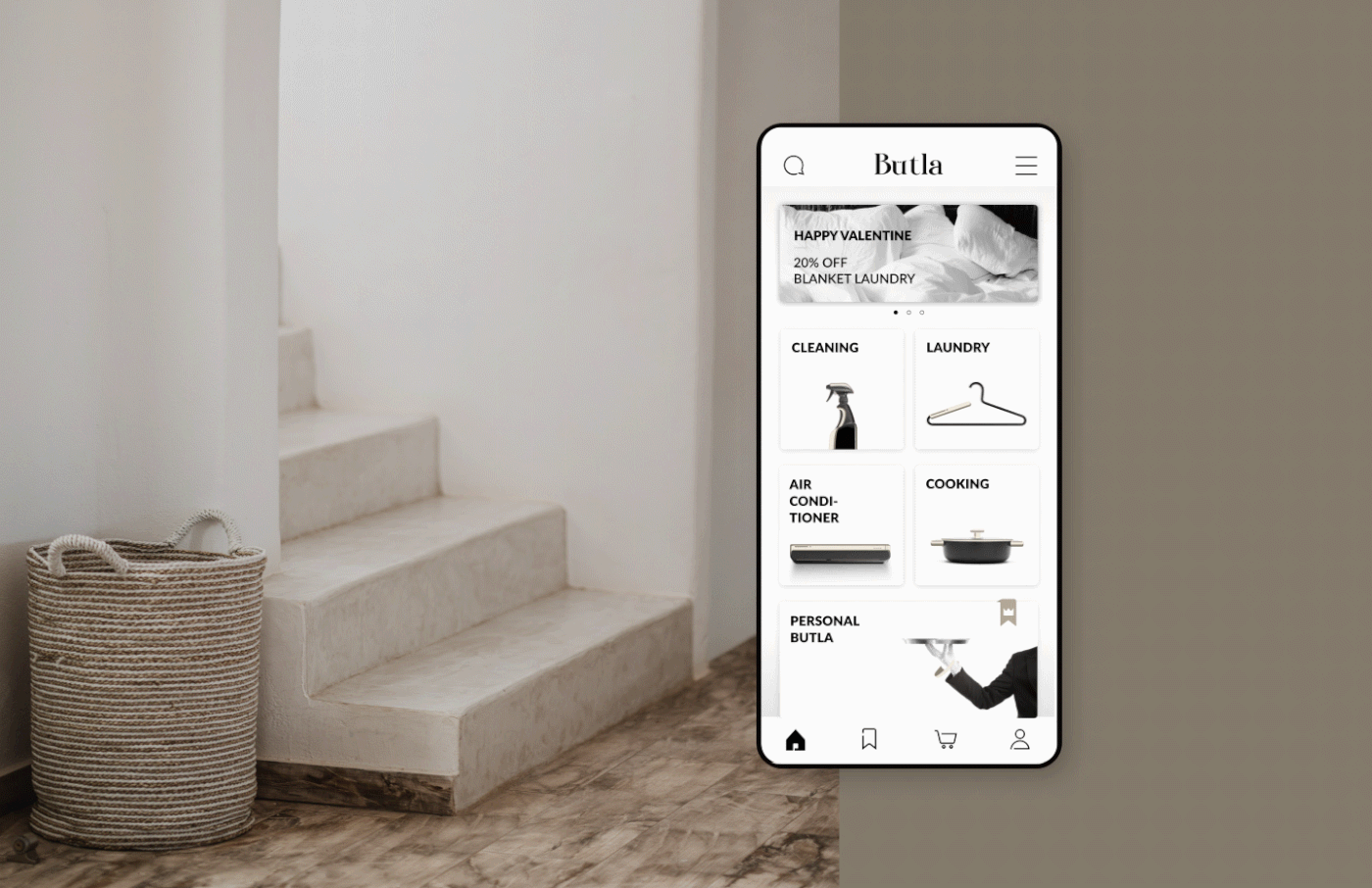 BUTLA APP – CLEANING HOME & SERVICES
